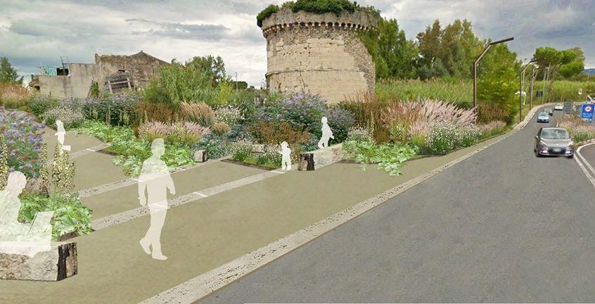 Muro di Ponte Lucano, il Comune avvia i lavori di sistemazione paesaggistica