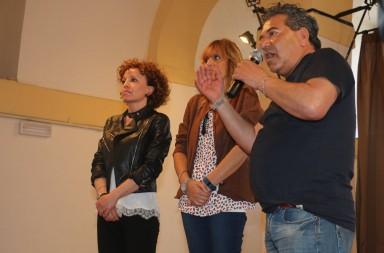 Arianna Plebani, Alessandra Mussolini e Giancarlo  Coltella