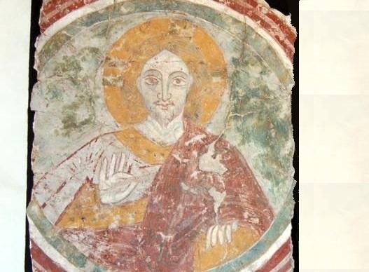 L'affresco del Cristo Benedicente torna a Guidonia. Era stato trafugato 38 anni fa dalla chiesetta rupestre di Marco Simone