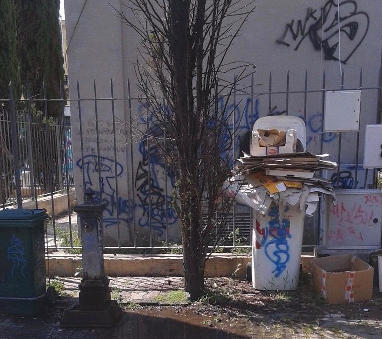 Tivoli Terme, i Giardini Arcobaleno sono nel degrado tra rifiuti e escrementi. L'allarme del Comitato