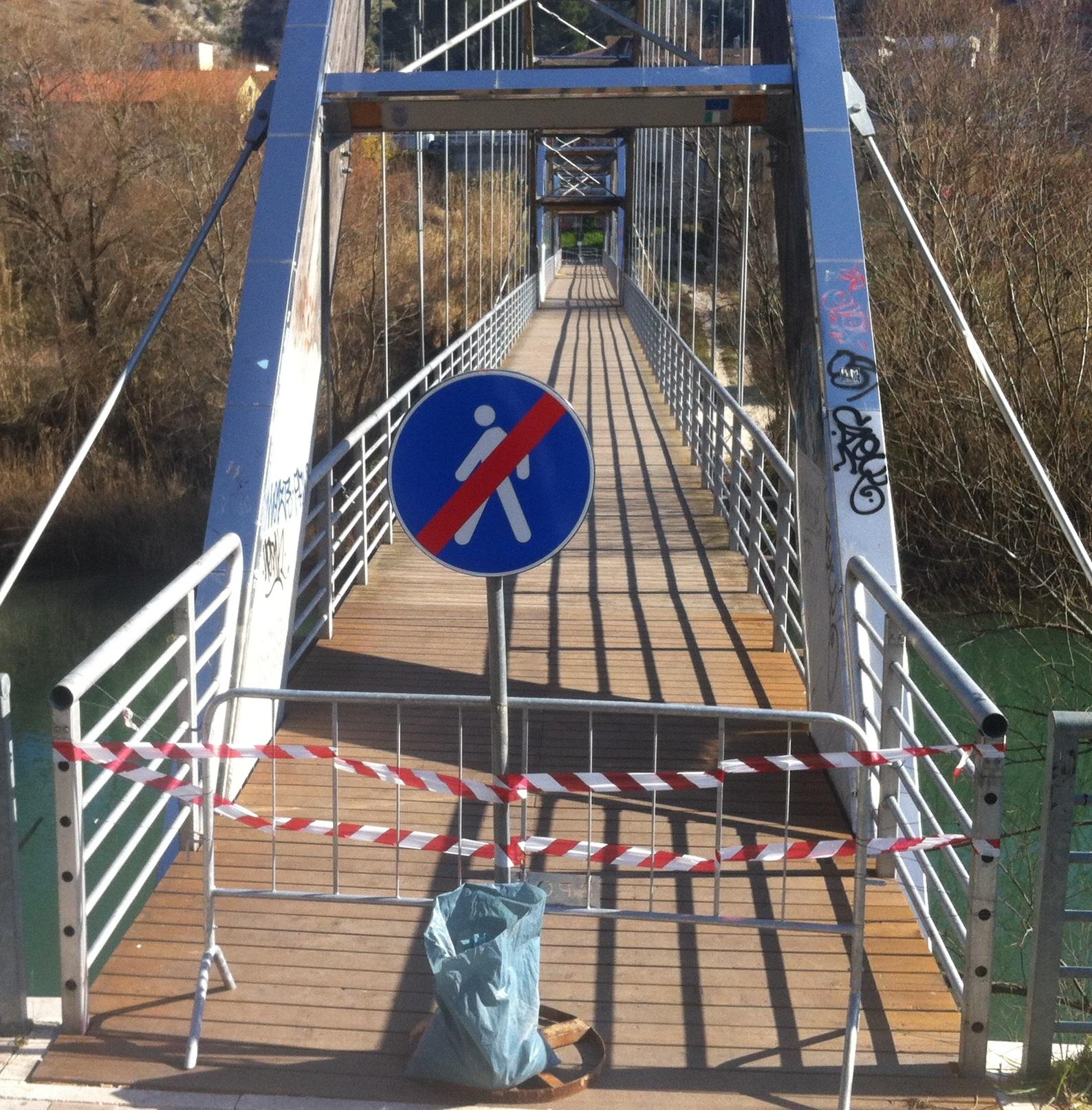 Tivoli, al via i lavori al Ponte della Pace
