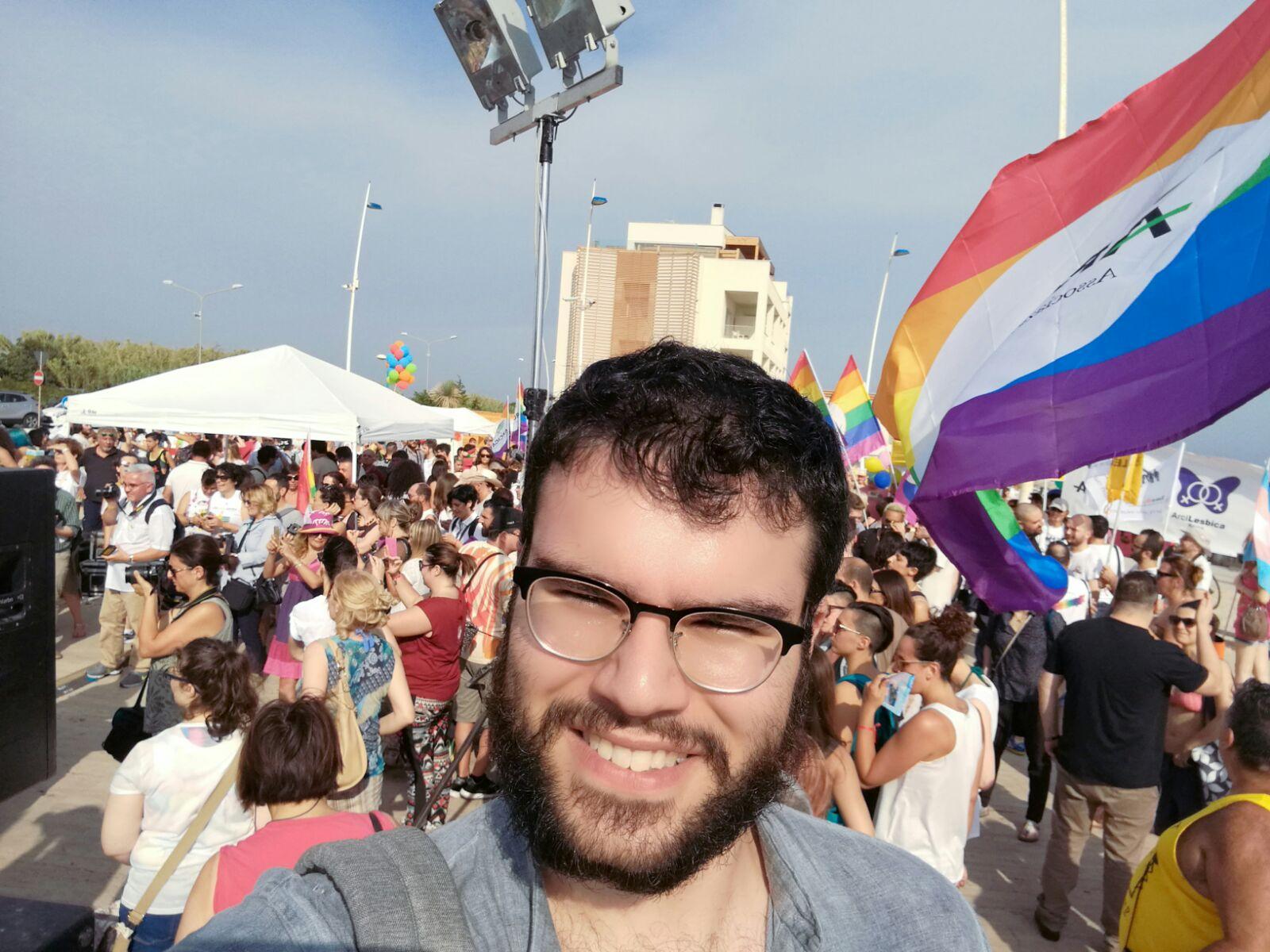 """Lazio Pride a Latina, Pucillo: """"La politica di Guidonia invece svilisce i 4mila omosessuali della città"""""""