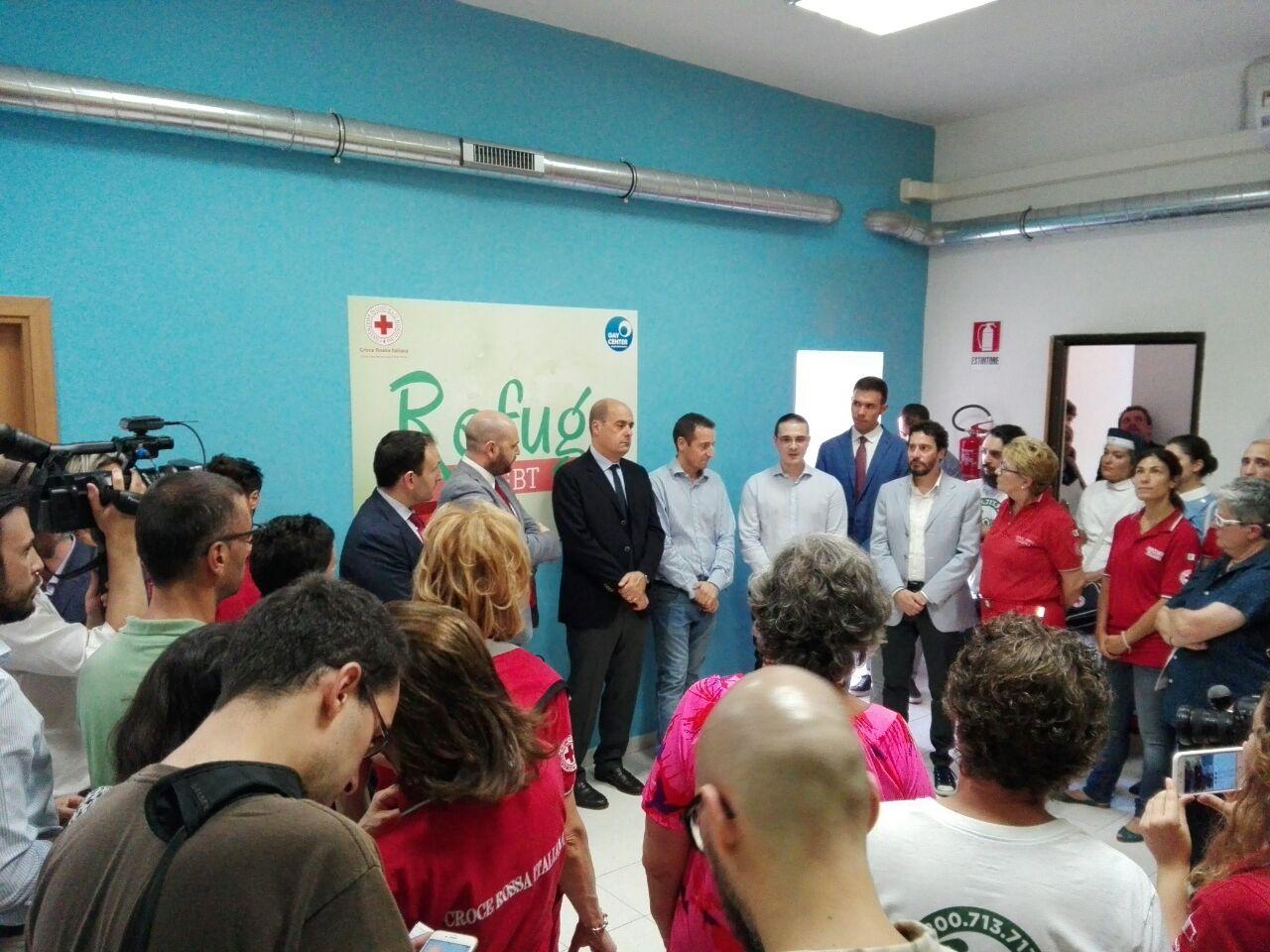 """Guidonia in filo diretto con il primo """"rifugio"""" per Lgbt in difficoltà inaugurato a Roma"""