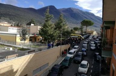 terremoto palombara scuola