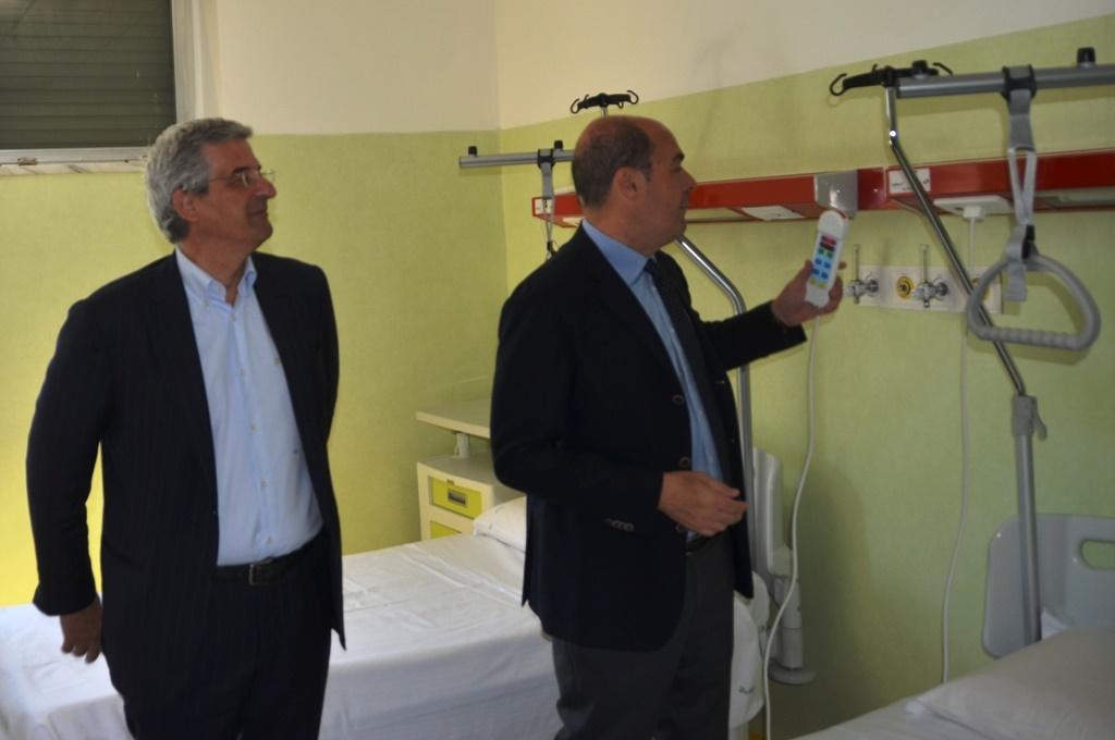 Sanità, inaugurato il nuovo reparto di chirurgia e day surgery a Subiaco