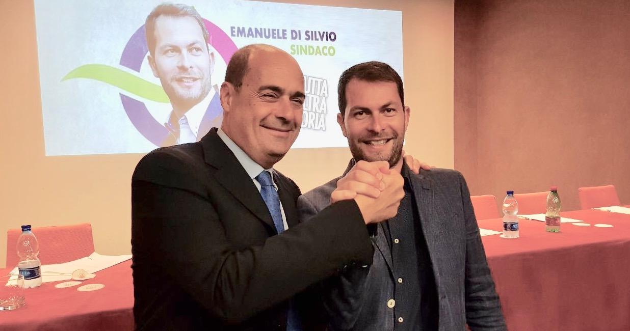 """Zingaretti a Guidonia: """"Costruiremo qui la Casa della Salute"""". Di Silvio: """"Una città dei servizi"""""""