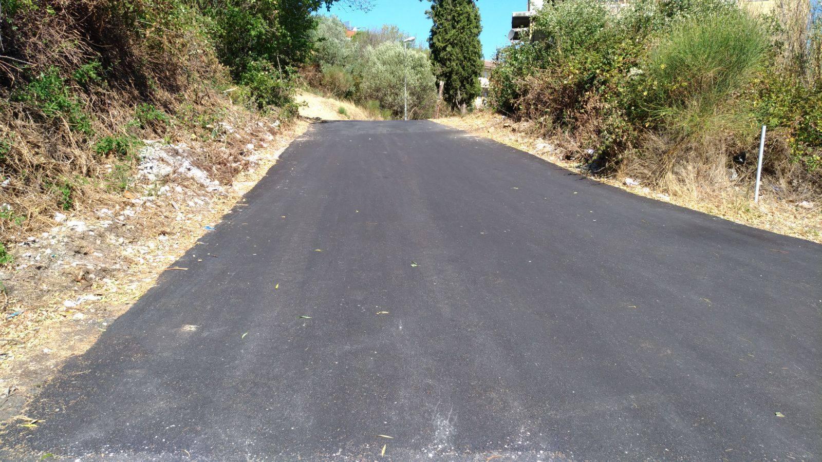 Tivoli: completati i lavori di collegamento tra via Dea Bona e via Rosario Romeo