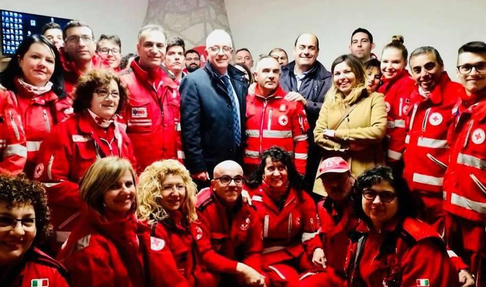 """La casa cantoniera di Guidonia ora è un centro socio-sanitario della Croce Rossa. Zingaretti: """"Sarà un punto di riferimento"""""""