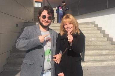 Maurizio Guccini e Beatrice Casagrande