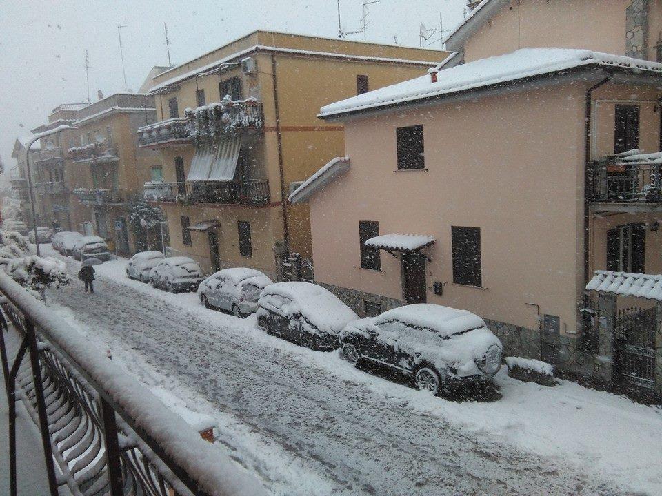 Ancora rischio neve, scuole chiuse giovedì a Monterotondo