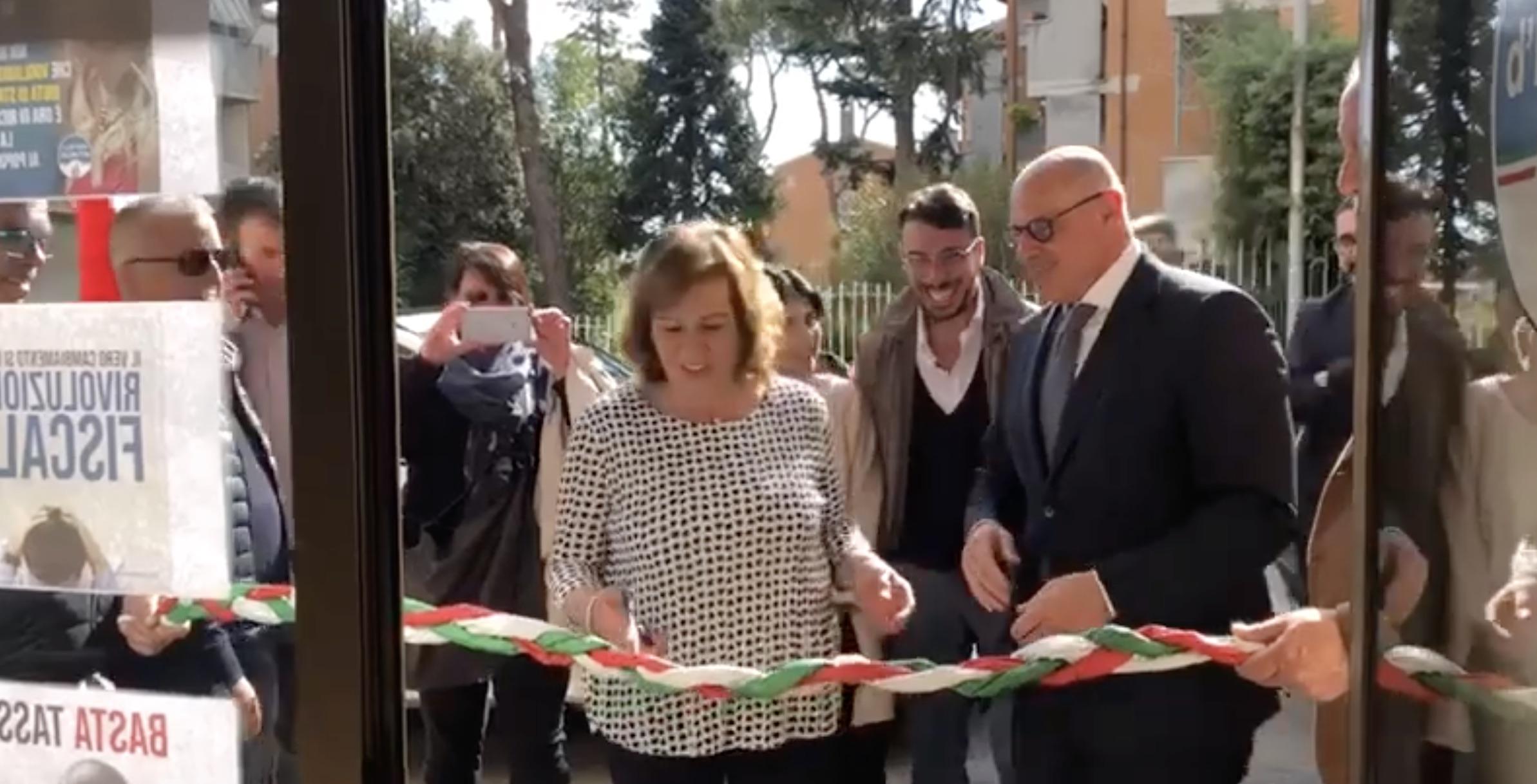 Ammaturo e Rampelli inaugurano sede FdI a Guidonia – VIDEO