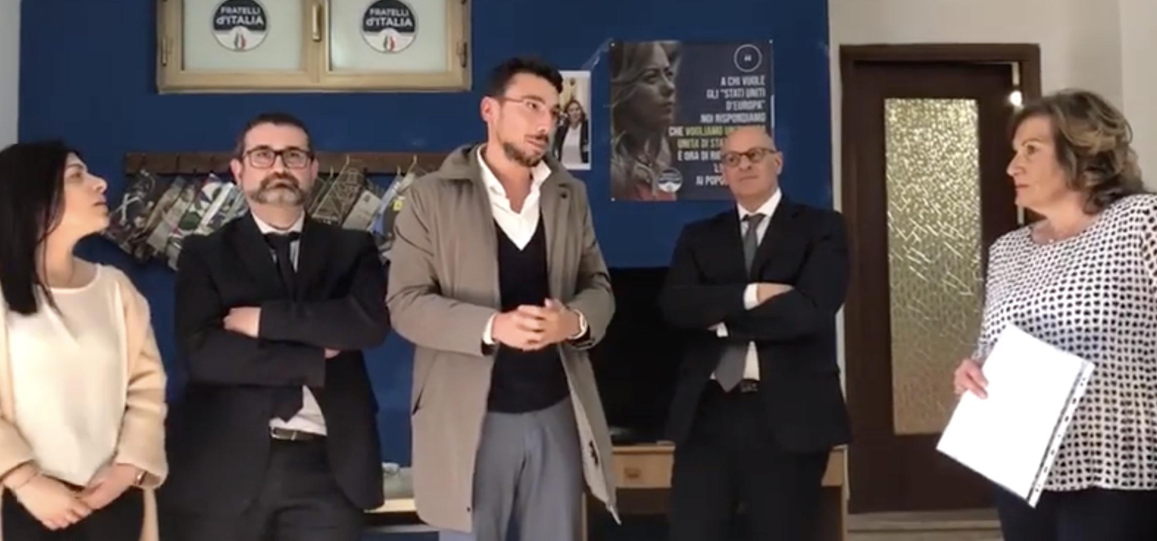 Video Pozzi inaugurazione circolo FdI Guidonia
