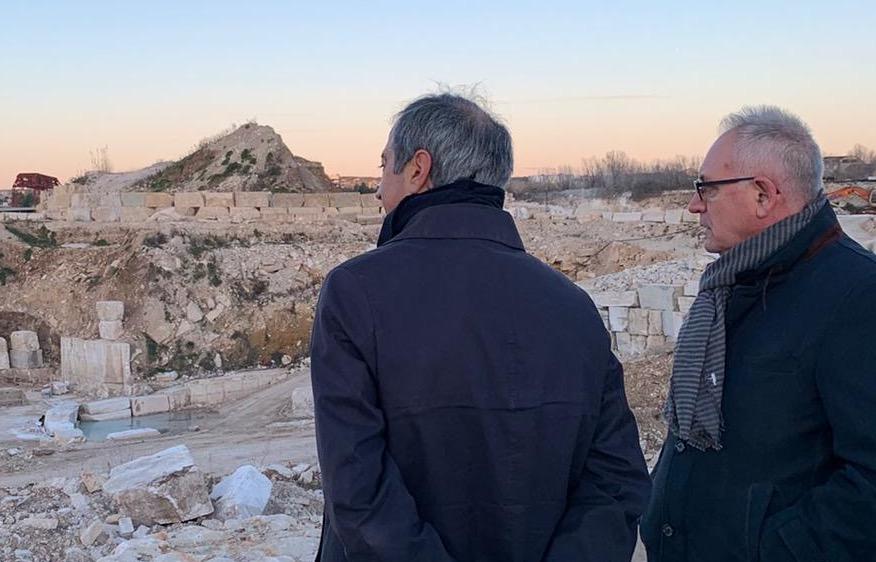 """Guidonia, il sindaco Barbet: """"Sicuri di trovare una soluzione per le cave"""""""