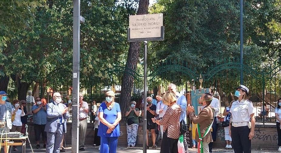 La Passeggiata di Monterotondo è intitolata allo studioso Valerio Nobili