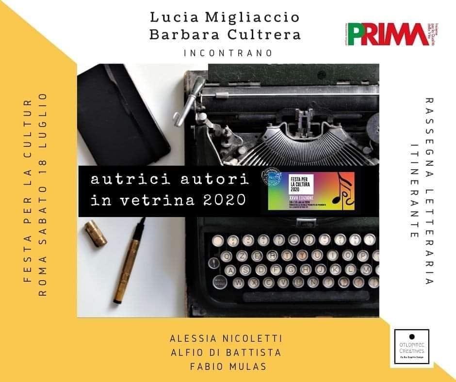 Autori in vetrina, la rassegna sui libri torna dal vivo a Roma