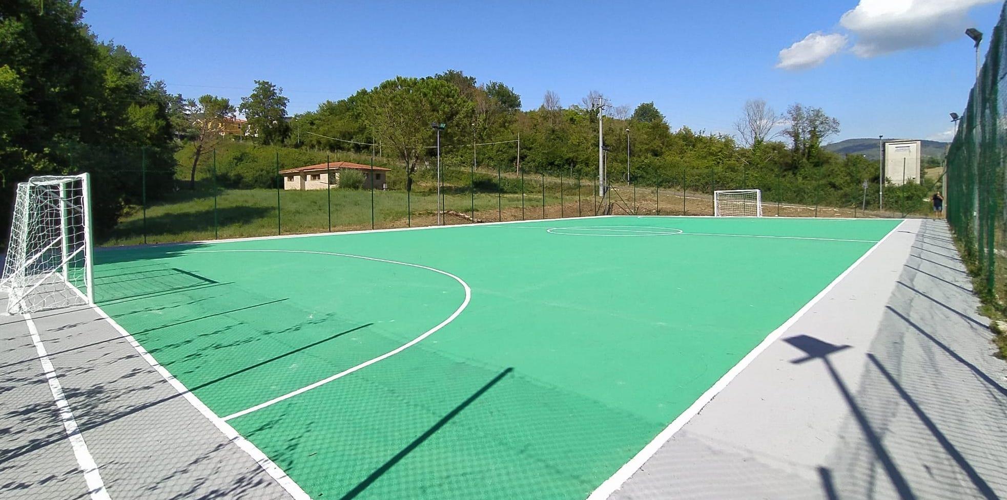 Parco e campo riqualificati a Santa Balbina, c'è l'avviso per l'affidamento