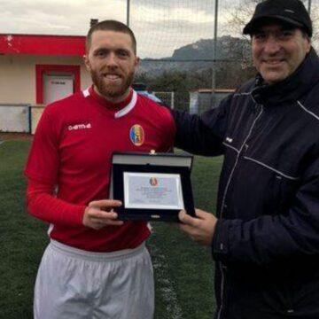 Calcio, il ritorno a Guidonia della bandiera Simone Festa