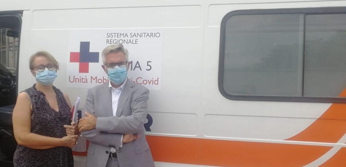 Scuole, operativo l'ambulatorio mobile della Asl Roma5