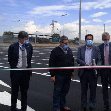 Inaugurate nuove aree parcheggio per dipendenti del Sant'Andrea