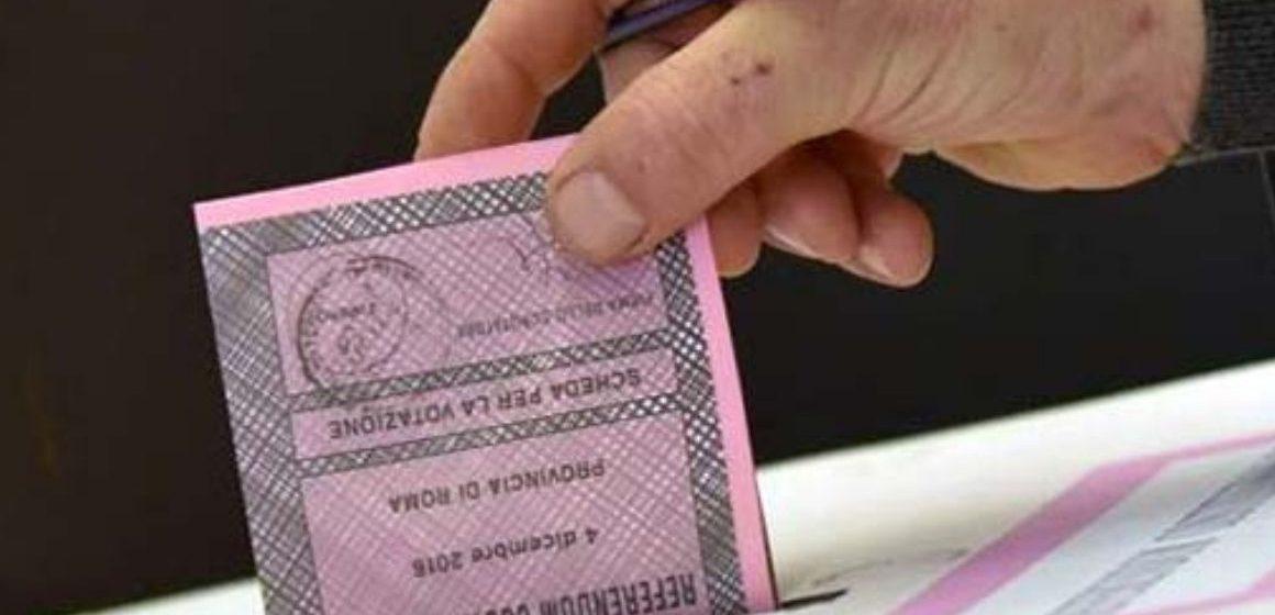 A Guidonia il sì sopra il 70%
