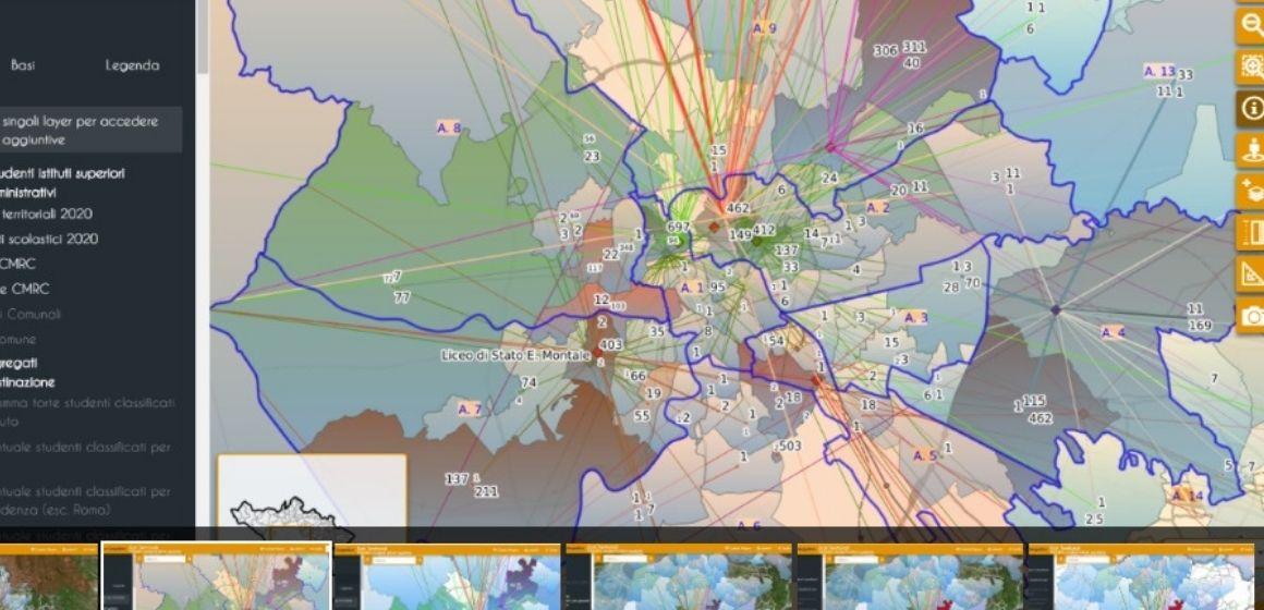 Mappa interattiva per la mobilità degli studenti