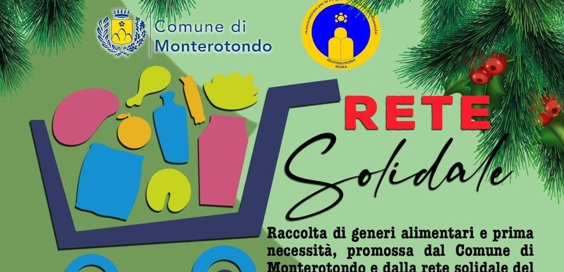 Monterotondo, parte la raccolta alimentare del Comune e della Rete Solidale