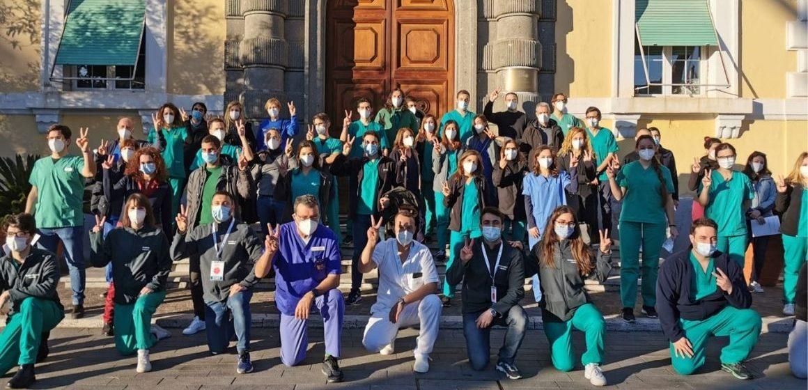 Covid, i primi 130 vaccinati a Roma