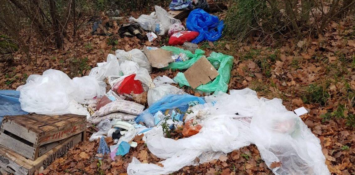 Monte Ripoli tra i rifiuti: sanzionate 30 persone