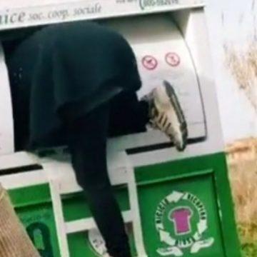 Video virale su Tik Tok incastra ladri di abiti usati a Tivoli Terme