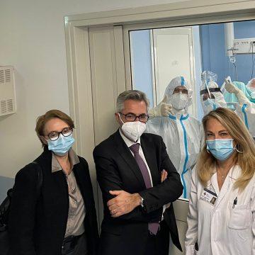 Aperta la nuova terapia intensiva covid a Tivoli