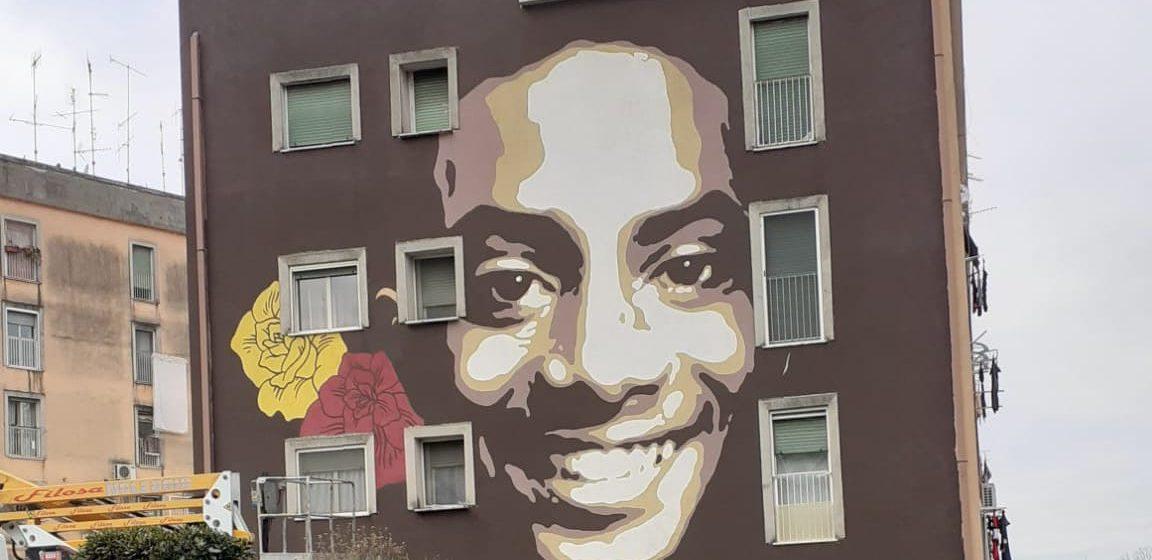 Colleferro, un murale per ricordare Willy Monteiro Duarte