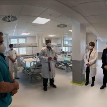 Palestrina, inaugurata nuova area terapia intensiva