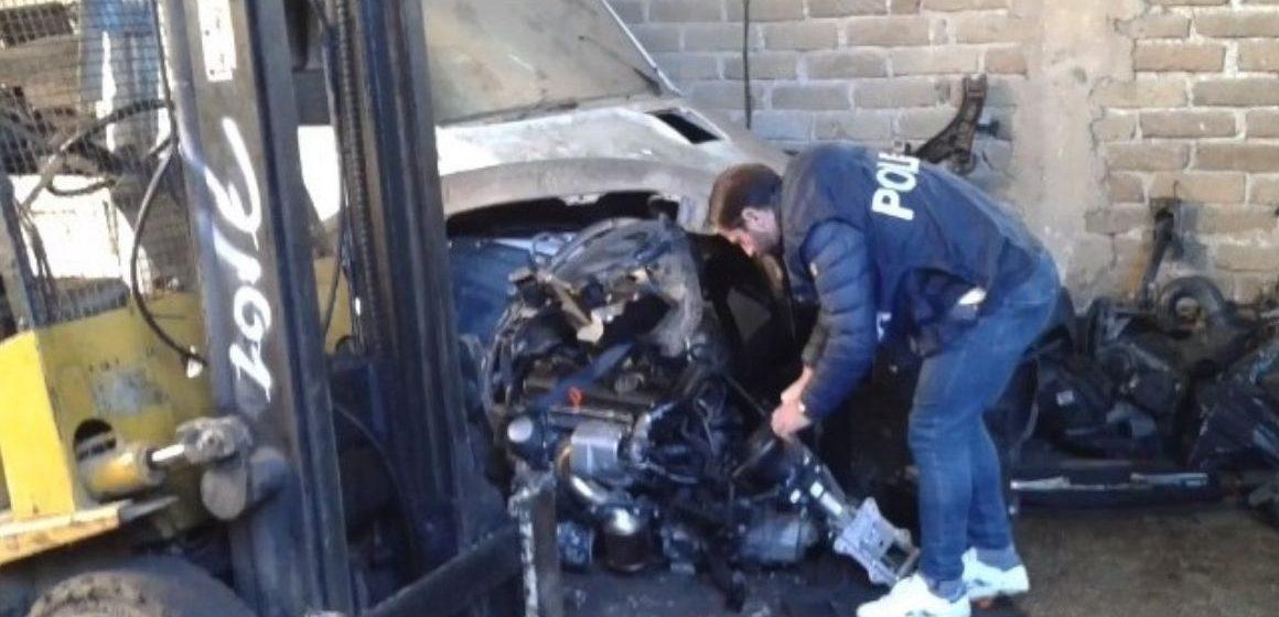 Guidonia e Formello, auto rubate per il mercato nero dei ricambi: 5 arresti e 7 denunce