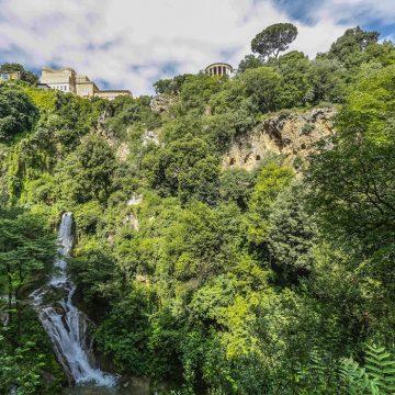Riapre Villa Gregoriana a Tivoli