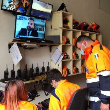 Guidonia, controlli in alta definizione: è la nuova sala hi-tech della Protezione civile