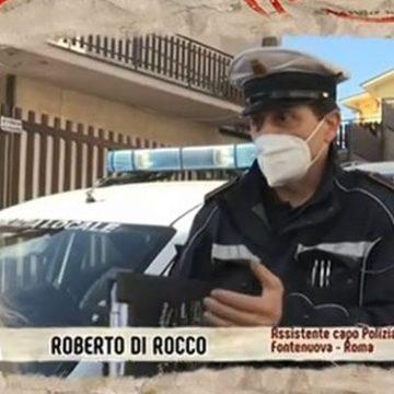 Fonte Nuova, l'attività di controllo della Polizia Locale ieri sera a DiMartedì su La7