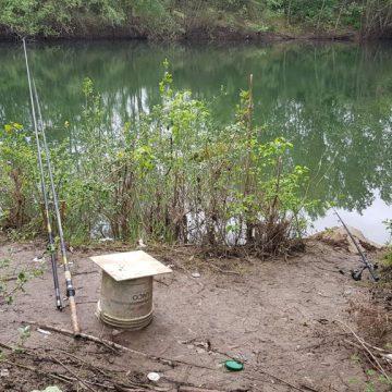 Tivoli, pesca abusiva sull'Aniene