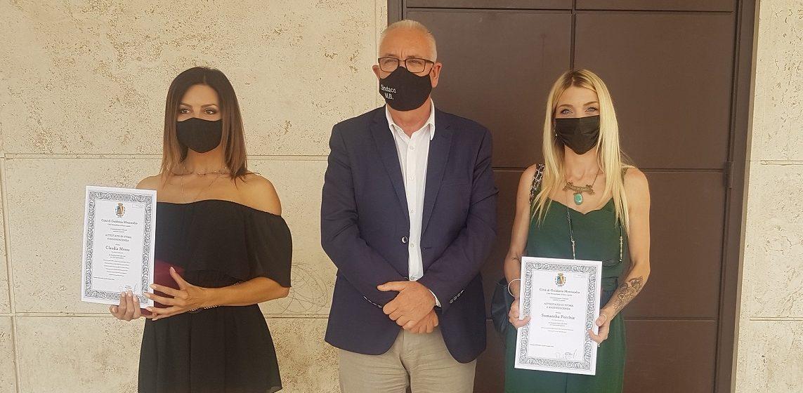 Guidonia, Claudia Messa e Samantha Porchia campionesse di body building
