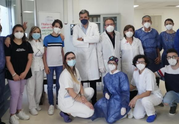 Vaccini open day junior, i dati della Asl Roma5