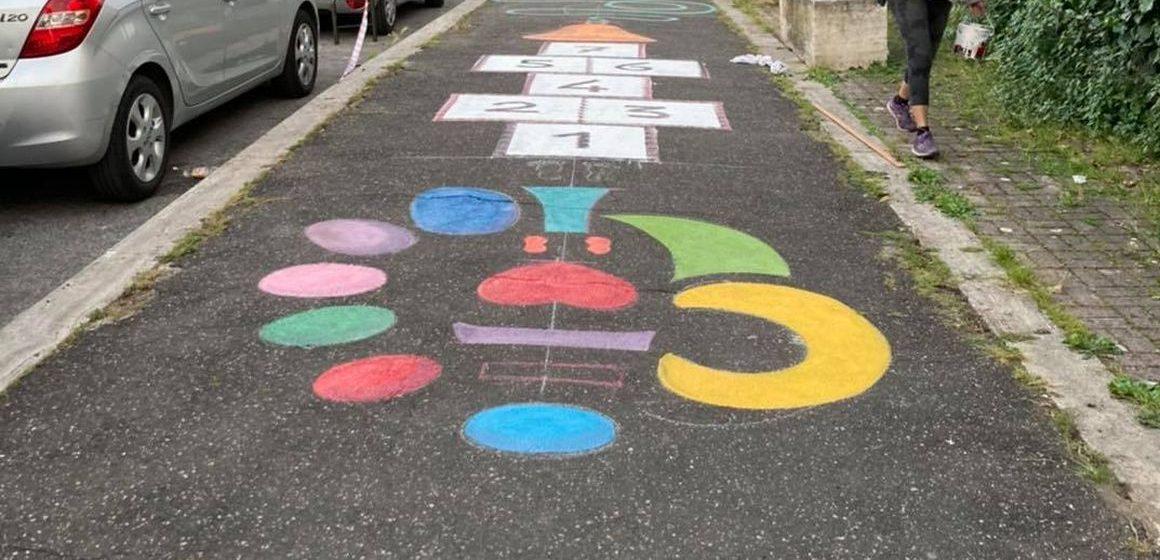 SiAMO Villalba inaugura il murales e il percorso psicomotorio