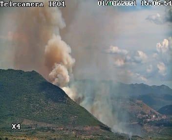 Incendio tra Tivoli e Guidonia: in fumo più di 20 ettari