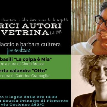 Autrici Autori in Vetrina, torna in presenza la rassegna letteraria