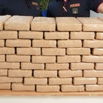 Fiano Romano, in viaggio con 68 kg di cocaina purissima. 36enne in manette