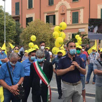 Coldiretti protesta contro l'invasione dei cinghiali
