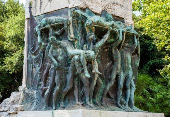 Tivoli, prima fase del restauro del monumento ai Caduti: sabato 25 la presentazione