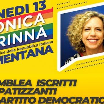 Mentana, Monica Cirinnà all'assemblea Pd per sostenere Rete Democratica