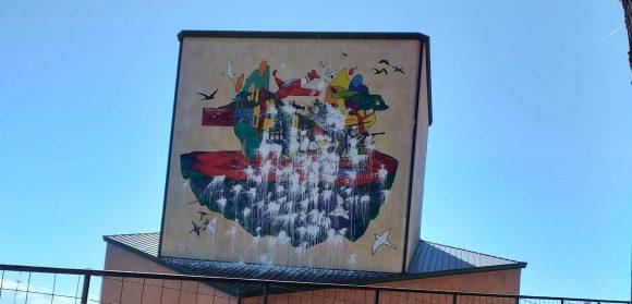 Vandalizzato il murale sulla Resistenza a Colleverde
