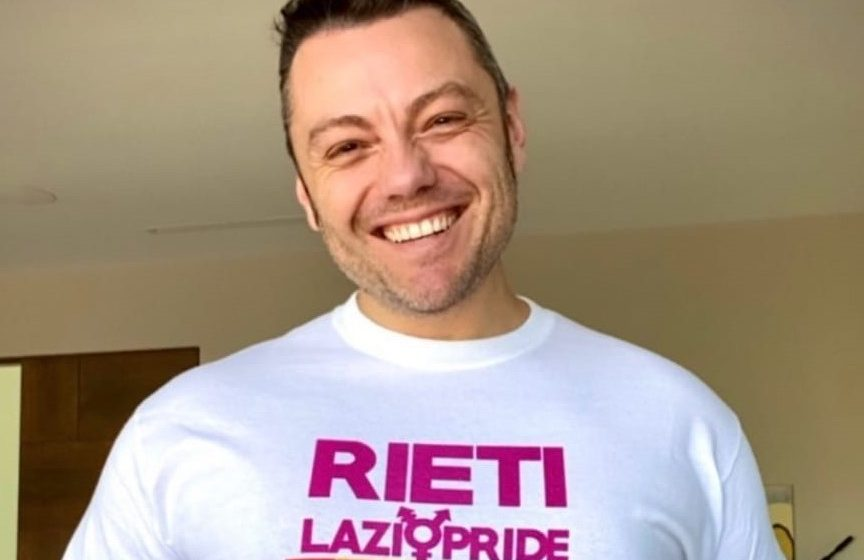 Tiziano Ferro sostiene il Lazio Pride a Rieti