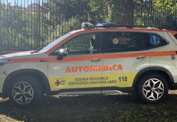 Lazio, 11 nuove automediche pronte a entrare in servizio