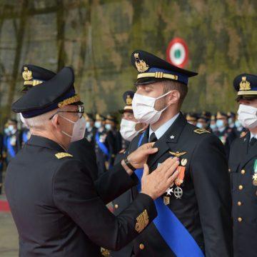 Aeroporto Guidonia, consegna Bandiera d'Istituto al 60° Stormo e conferimento onorificenze
